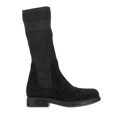 NILA & NILA ブーツ ブラック 36 革 / 紡績繊維 ブーツ