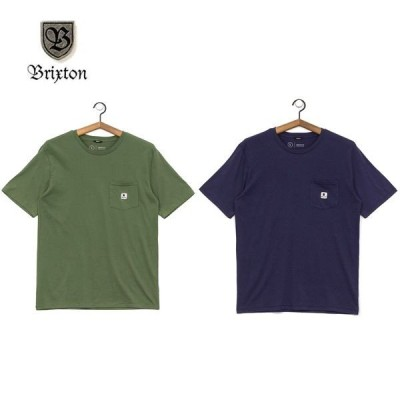 BRIXTON/ブリクストン STOWELL SS PKT T-SHIRTS/Tシャツ・2color