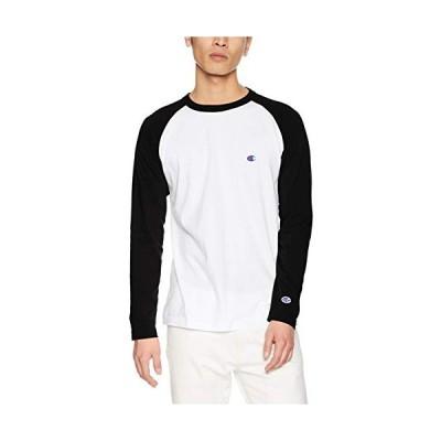 [チャンピオン] ワンポイントロゴ ラグランロングスリーブTシャツ ベーシック C3-P402 メンズ ブラック L