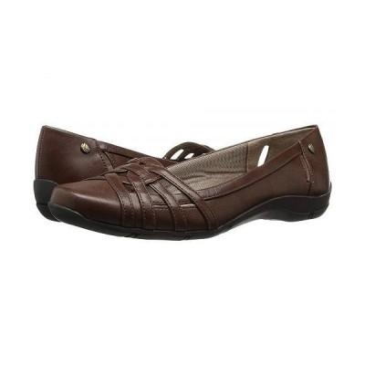 LifeStride ライフストライド レディース 女性用 シューズ 靴 フラット Diverse - Tan