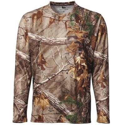 フィールドアンドストリーム メンズ シャツ トップス Field & Stream Men's Performance Camo Long Sleeve Shirt