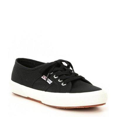 スペルガ レディース スニーカー シューズ Cotu Classic Sneakers Black/White