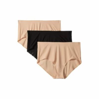 ミラクルスーツ Miraclesuit Shapewear レディース ショーツのみ 3点セット TC Intimates by Miraclesuit Microfiber Hi-Cut 3-Pack Nude