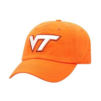 Top of the World Virginia Tech Hokies Mens Relaxed Fit Adjustable Hat Secon