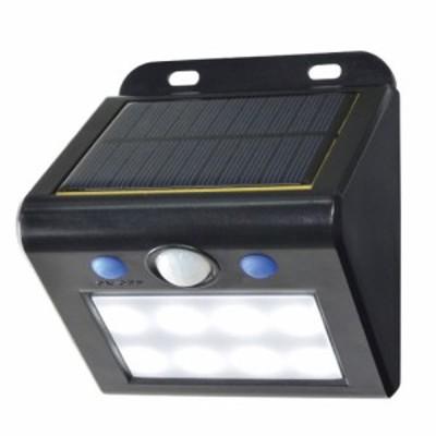 ELPA ESL-K101SL(W) ソーラー式LEDセンサーライト(白色)ELPA[ESLK101SLW] 返品種別A
