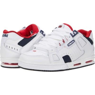 グローブ Globe メンズ スニーカー シューズ・靴 Sabre White/Blue/Red