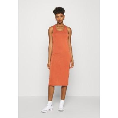 ミニマム レディース ワンピース トップス MIJAS DRESS  - Jersey dress - baked clay baked clay