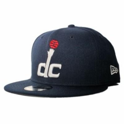 ニューエラ スナップバックキャップ 帽子 NEW ERA 9fifty メンズ レディース NBA ワシントン ウィザーズ フリーサイズ [ nv ]