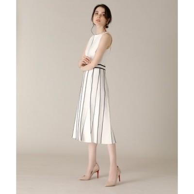 ドレス 《M Maglie le cassetto》バイカラーニットワンピース