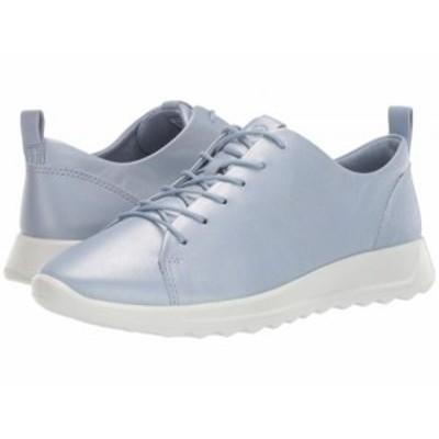 ECCO エコー レディース 女性用 シューズ 靴 スニーカー 運動靴 Flexure Runner Tie Dusty Blue Metallic【送料無料】