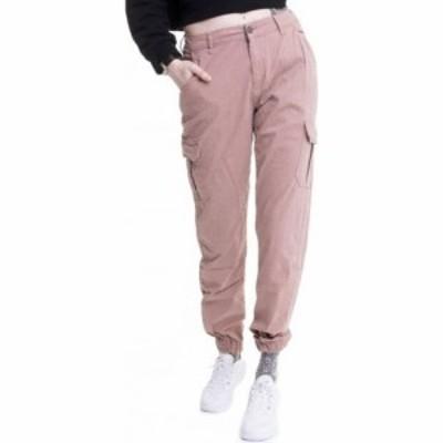 アーバンクラシックス Urban Classics レディース カーゴパンツ ボトムス・パンツ - High Waist Cargo Duskrose - Pants pink