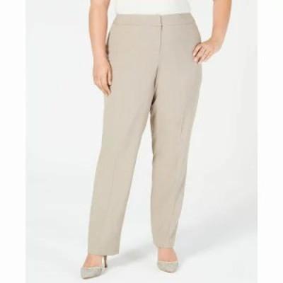 ナインウェスト その他ボトムス・パンツ Plus Size Straight-Leg Pants Creek