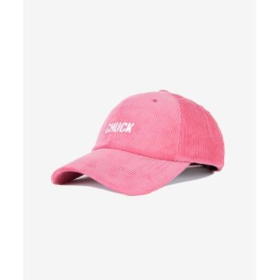 帽子 キャップ 【CHUCK】コーデュロイ ベースボール キャップ