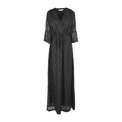 ロートレ ショーズ L' AUTRE CHOSE ロングワンピース&ドレス ブラック 40 ポリエステル 100% ロングワンピース&ドレス
