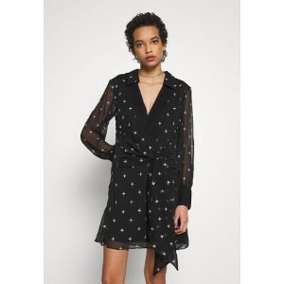 スティービーメイ レディース ワンピース トップス MOONLIGHT MINI DRESS - Day dress - black/diamond embroidery black/diamond embroi
