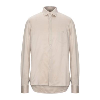 SUPERLATIVA シャツ ベージュ 42 コットン 100% シャツ