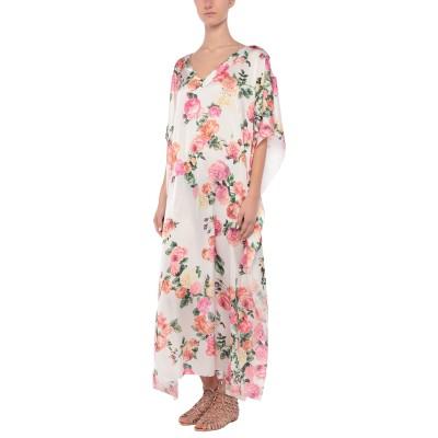ブルマリン BLUMARINE ビーチドレス ホワイト 2 ポリエステル 100% ビーチドレス