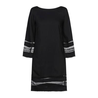 アトス ロンバルディーニ ATOS LOMBARDINI ミニワンピース&ドレス ブラック 38 レーヨン 97% / ポリウレタン 3% / ポリ