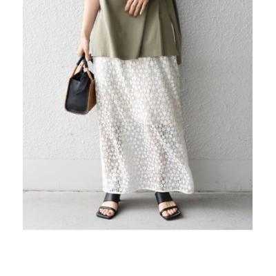 【SHIPS別注】Pheeta:レーススカート