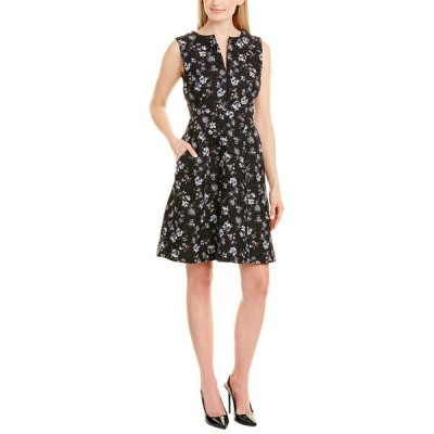 ナネットレポー ワンピース トップス レディース Nanette Lepore A-Line Dress black & blue