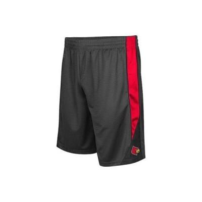 大学 NCAA コロッセオ Colosseum Louisville Cardinals Charcoal Turnover Shorts
