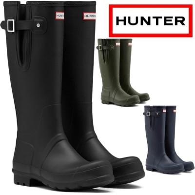 ハンター レインブーツ ロング MFT9007RMA HUNTER ブーツ MENS ORIGINAL TALL SIDE ADJUSTABLE オリジナル トール サイド アジャスタブル メンズ 長靴 防水