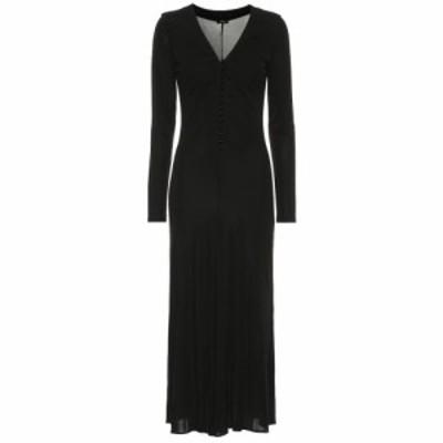 ジョゼフ Joseph レディース ワンピース ワンピース・ドレス Marlene jersey-crepe midi dress Black