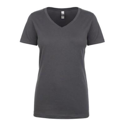 ユニセックス 衣類 トップス The Next Level Ladies Ideal V - DARK GRAY - XS Tシャツ