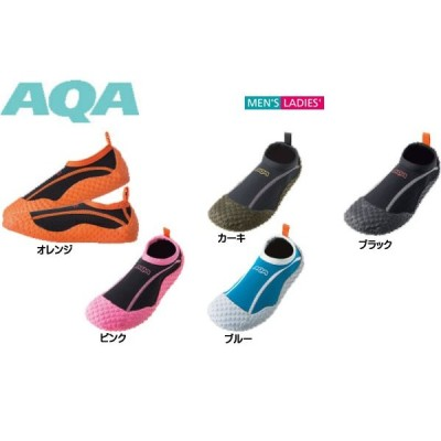 AQA(エーキューエー) 日本ブランド マリングッズ スノーケリングシューズIII KW-4472N 【ユニセックス】