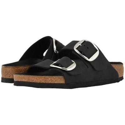 ビルケンシュトック Birkenstock レディース サンダル・ミュール シューズ・靴 Arizona Big Buckle Black Oiled Leather
