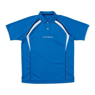 ルーセント テニス ユニホーム ゲームシャツ ゲームシャツ U ブルー lucent XLP-8397