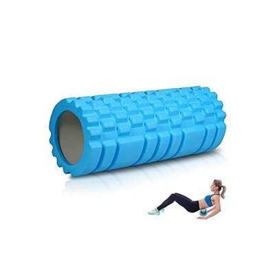 フォームローラー ヨガポール グリッドフォームローラー 筋膜リリース 適当な柔らかさ トレーニング スポーツ フィットネス ストレッチ器具 軽量 トレ