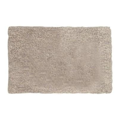 シャギーマット 洗える 「カペリ」グレー 約45×75cm 約45×75cm