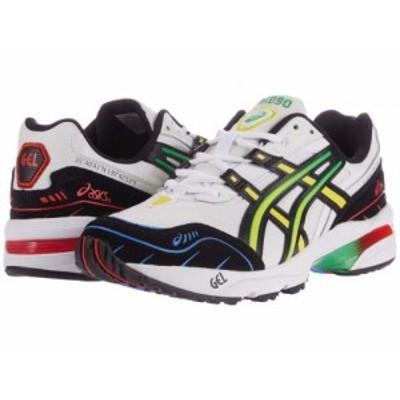 ASICS Tiger アシックス メンズ 男性用 シューズ 靴 スニーカー 運動靴 Gel-1090 White/Black【送料無料】