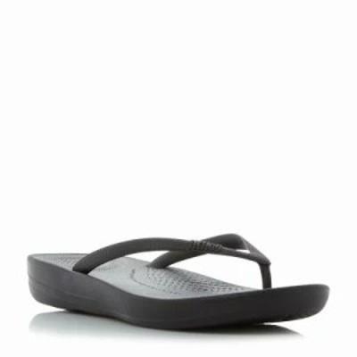 フィットフロップ サンダル・ミュール Iqushion Toepost Sandals black