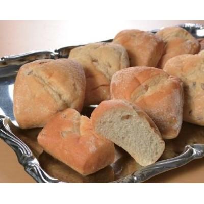ライ麦パン(全粒粉入り)10個(1個約7×8×4cm)【冷凍パン】【朝食】(nh104048)