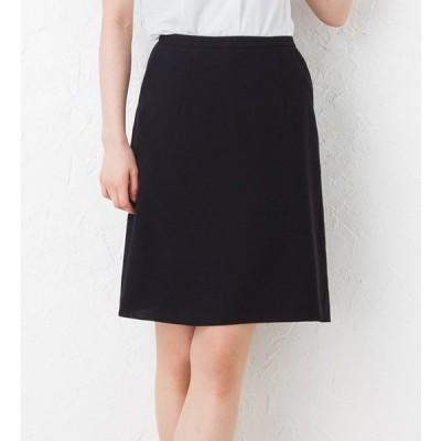 夏のノンストレスAラインスカート  事務服 オフィス制服 KARSEE enjoy 2018SS ひざ丈 きれいめ