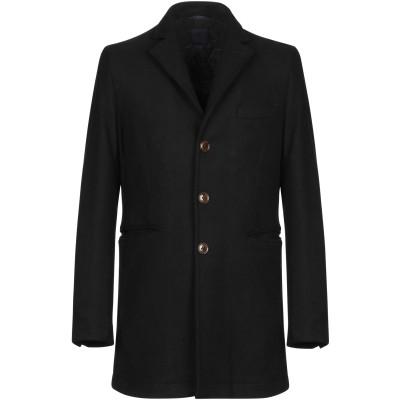 アティピコ AT.P.CO コート ブラック XL ウール 50% / ポリエステル 50% コート