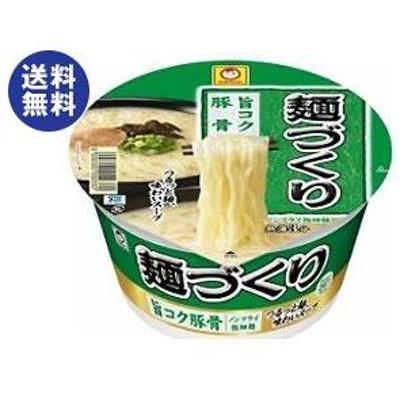 送料無料 東洋水産 マルちゃん 麺づくり 旨コク豚骨 87g×12個入