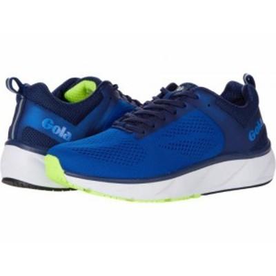 Gola ゴラ メンズ 男性用 シューズ 靴 スニーカー 運動靴 Ultra Speed Run Blue/Navy/Lime【送料無料】