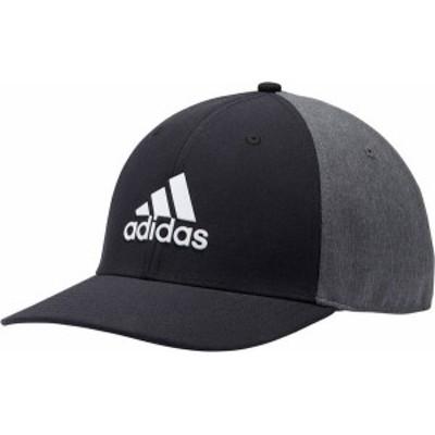 アディダス メンズ 帽子 アクセサリー adidas Men's A-Stretch Badge of Sport Tour Heather Golf Hat Black