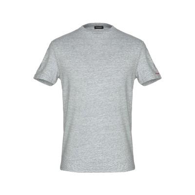 ディースクエアード DSQUARED2 アンダーTシャツ グレー S コットン 95% / ポリウレタン 5% アンダーTシャツ