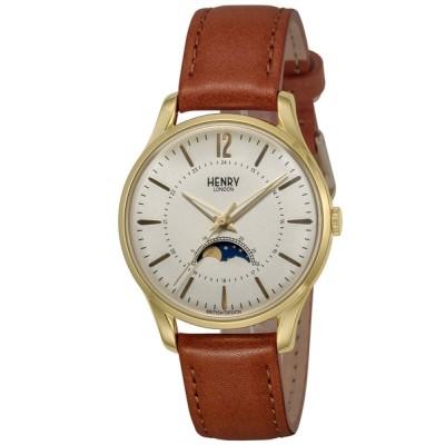 腕時計 HENRY LONDON ヘンリーロンドン WESTMINSTER MOONPAHSE ウエストミンスター ムーンフェイズ 腕時計