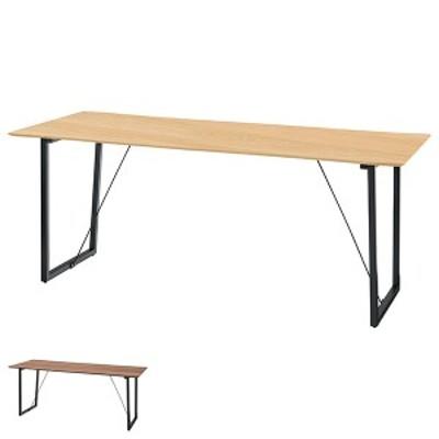 ダイニングテーブル 木天板 ミニマルデザイン Luca 幅180cm ( ダイニング テーブル 食卓テーブル 6人掛け 木製テーブル 食卓 木目 木製