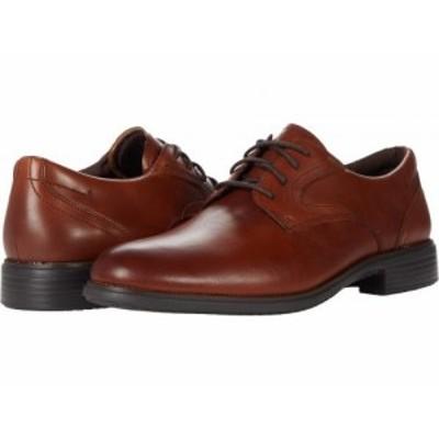 Rockport ロックポート メンズ 男性用 シューズ 靴 オックスフォード 紳士靴 通勤靴 Total Motion Dressport Plain Toe Tan【送料無料】