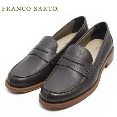 FRANCO SARTO フランコサルト レディース シューズ ローファー パンプス 女性 靴 革