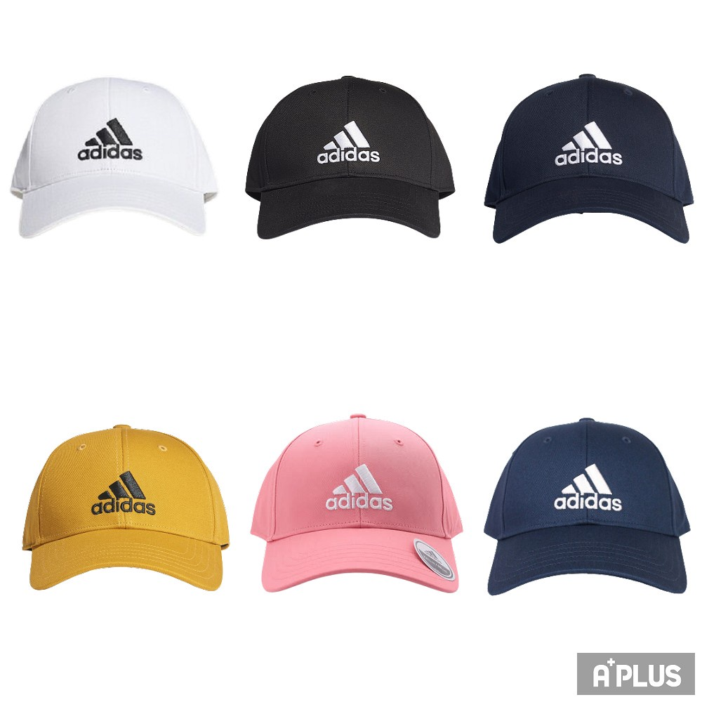 ADIDAS BBALL CAP COT 運動帽 棒球帽 老帽 休閒 穿搭 電繡 共6款