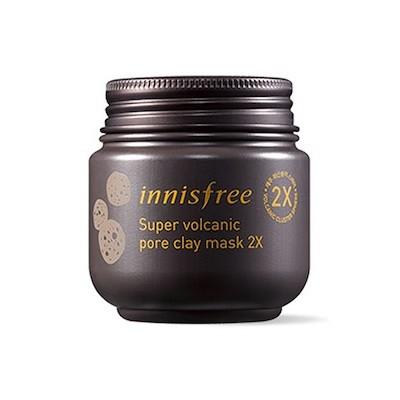 [OUTLET] Innisfree Super Volcanic Pore Clay Mask 2X  イニスフリー スーパー 火山ソンイ 毛穴マスク 2X  100ml