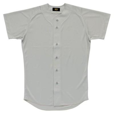 【送料290円】ゼット ユニフォームシャツ シルバー ZETT BU1071 1300