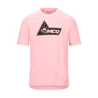 マックキュー アレキサンダー・マックイーン McQ Alexander McQueen T シャツ ピンク XXS コットン 100% T シャツ